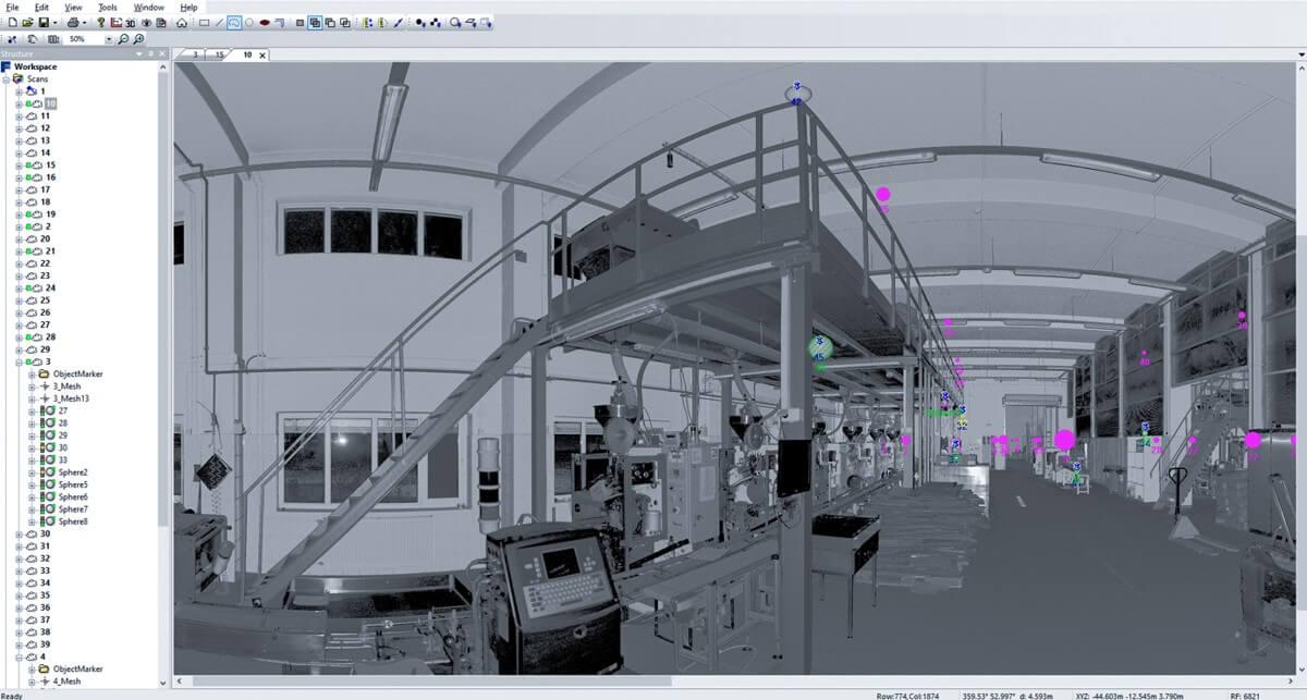 3D meranie