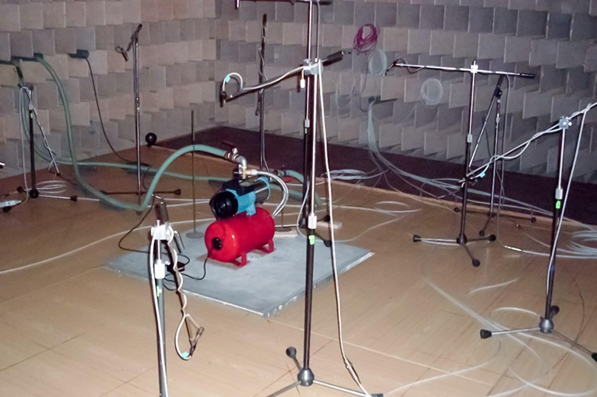 měření vibrací strojů