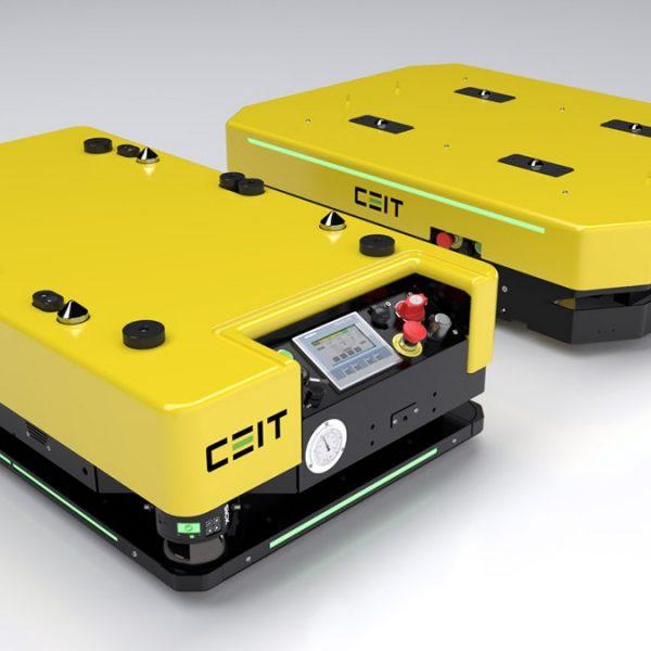 Podbíhací AGV – snadno integrovatelné a navržené pro komplexní optimalizaci v průmyslu